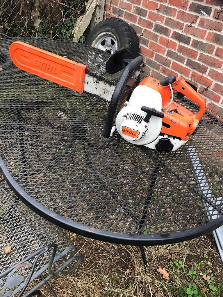 Vintage Stihl chainsaw fully working