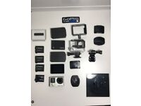 £ 150 - GoPro Hero4 Black + Accessories