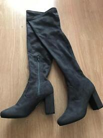 River Island over knee boots