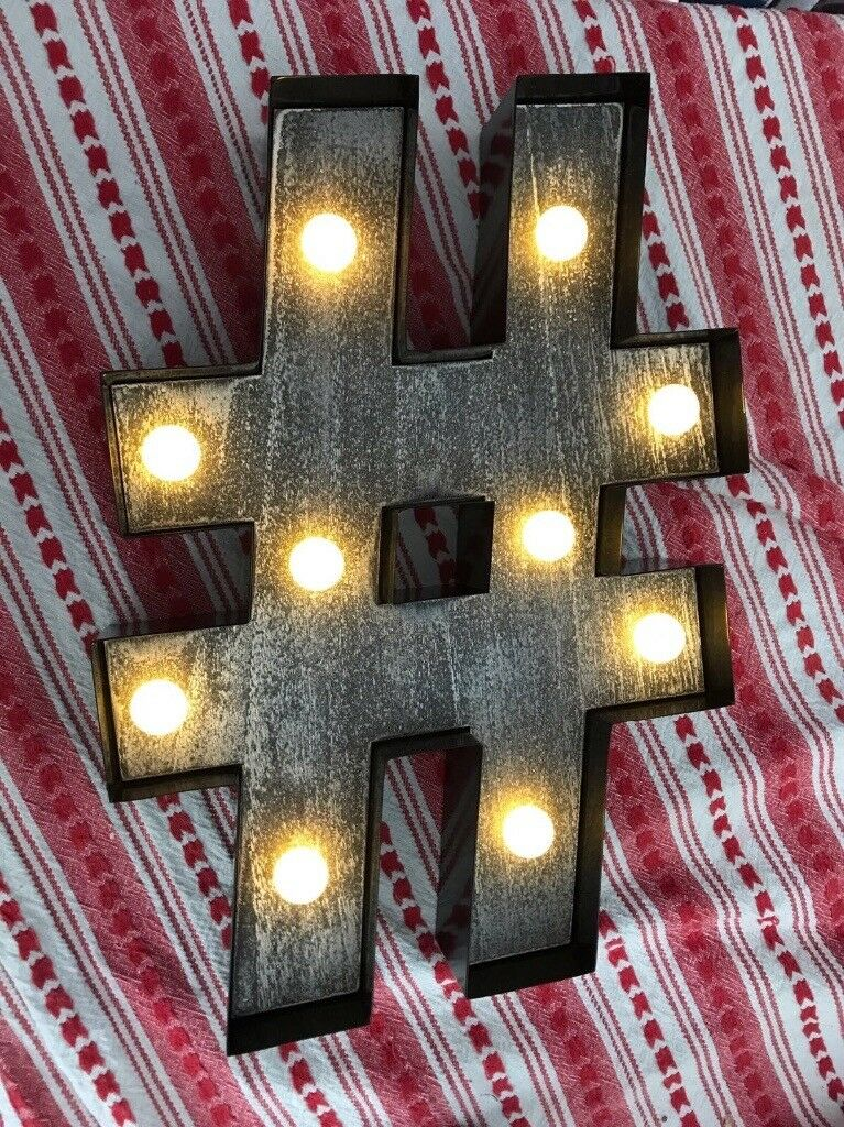 @ light sign - new boxed ideal Christmas gift