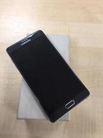 Samsung Galaxy Note 4 - 32GB - Black - Unlocked SIM Free Smartphone - Grade A++