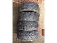 235 60 R16 Yokohama Geolander ATS Tyres Matching set of 4! All 6mm Tread