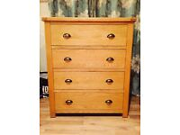 Brand New Kent Chest of Drawers Oak
