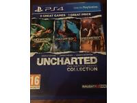 PS4 Unchartered The Nathan Drake Collection - Great condition