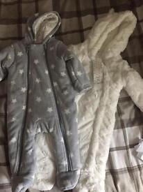 Brand new pramsuits