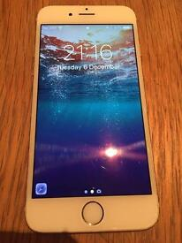 iPhone 6 16gb - Vodafone as new white/gold