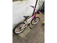 Glamorous girl bike