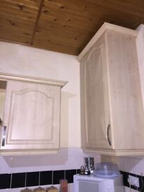 Kitchen units , used , very good condition.£500 Ono