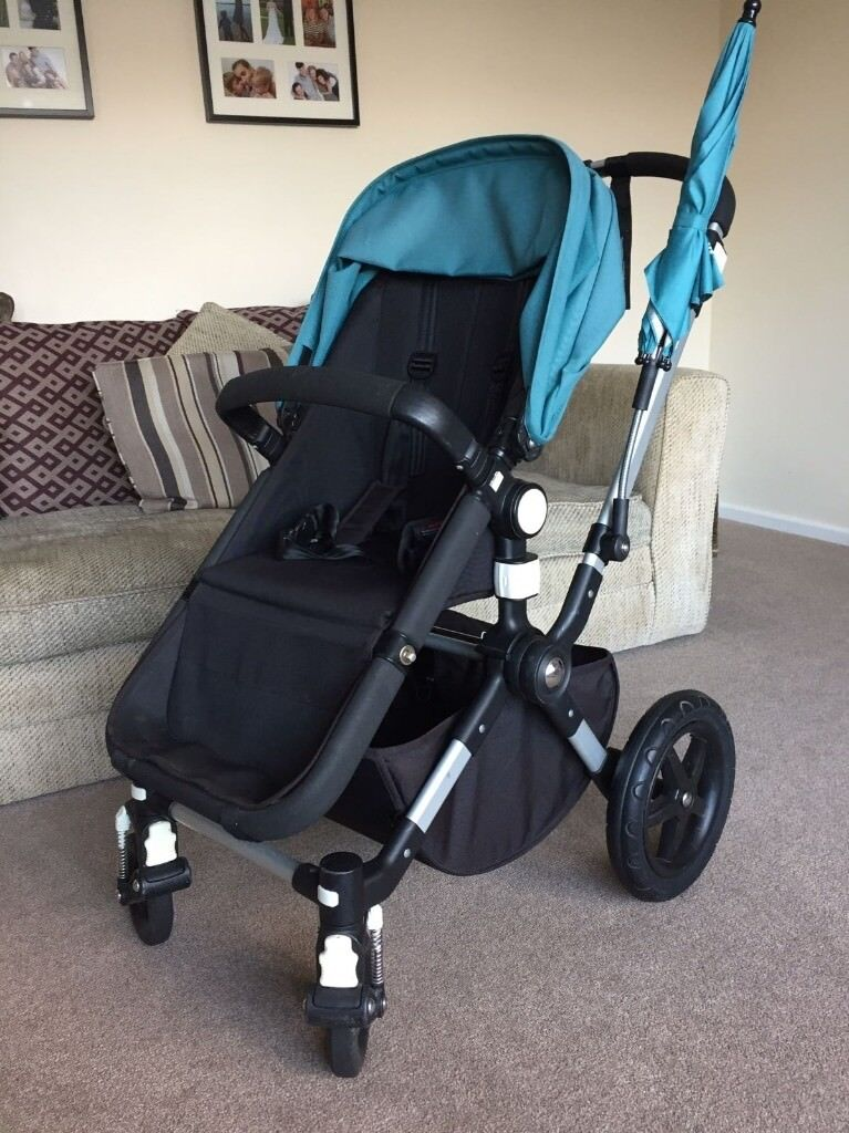 Bugaboo Cameleon 3 Travel System Complete With Maxi Cosi Car Seat Cosy Toes Parasol