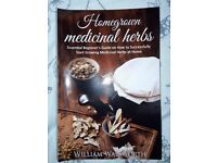 HOMEGROWN MEDICINAL HERBS BEGINNERS GUIDE BOOK (HEALING HOLISTIC WICCA WITCH) BY WILLIAM WALSWORTH