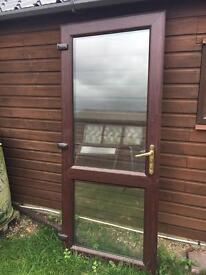 UVPC external door and frame