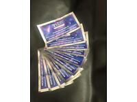 Crest 3D Professional Effects Whitening Strips - 10 packets (10 upper, 10 lower)