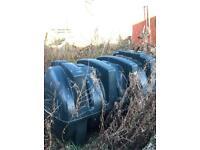 1800 litre oil tank