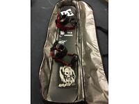 Ride snowboard & Union bindings