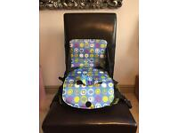 Travel child high chair booster seat