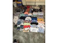Bundle of boys clothes 3 - 6 months