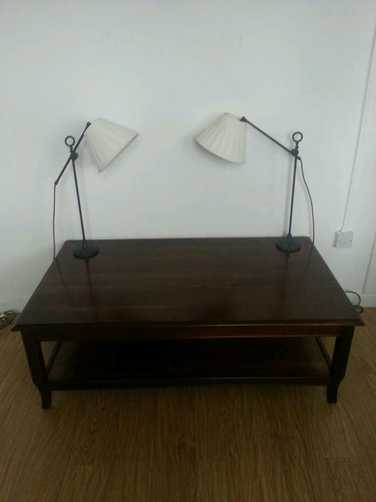 Ceiling Lights Gumtree Belfast : Pair of rot iron expandable angle point lamps in