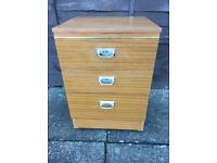 Teak Bedside Table ( Can Deliver )