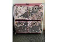Pink storage