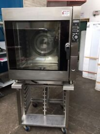 Hobart 10 Grid Steam Convection Combi Combination Oven Like Rational CPLUS RANGE