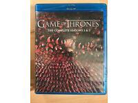 Game of thrones season 1 & 2 BLUERAY