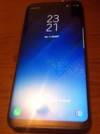 SAMSUNG GALAXY S8 PLUS 64GB ALL NETWORKS