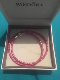 Pandora pink bracelet