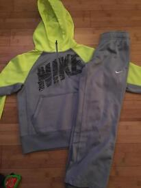 Boys genuine Nike tracksuit