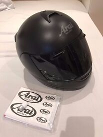Arai Helmet - Axces II Frost Black size M / With F3MC Bluetooth
