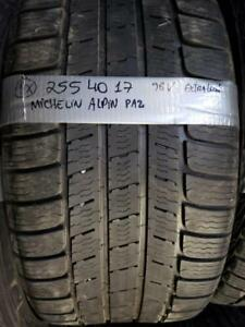 1 winter tire Michelin pilot alpin 255/40r17