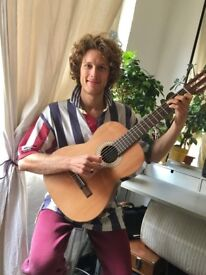 **Groovy guitar lessons for beginners with Geoffrey @ Ultra Funky Lounge, Shoreditch**