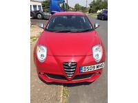 Alfa Romeo mito 1.3 jtdm veloce red