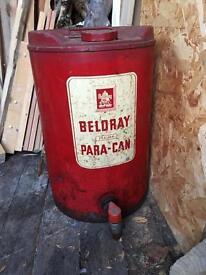 Vintage Paraffin Can