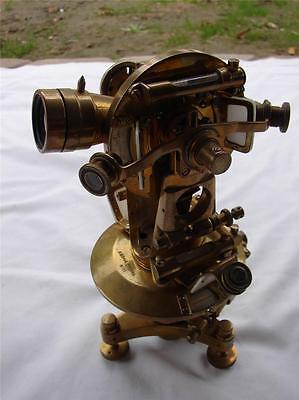 Vintage Russian Schwabe  Brass Surveying Transit - Rare Theodor Schwabe