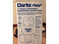 Clarke pump. Heavy duty 110V Water pump.