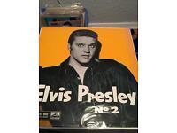 Elvis Presley no 2 so rare 2nd uk LP the King off Rick n roll mint 1 press 1957