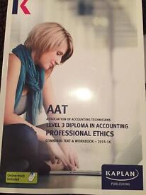 AAT Level 3 diploma in Accounting books set