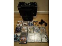PS3 Backwards compatible + 14 Games +2 Controllers + mouse controller