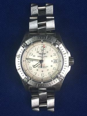 $916.63 - Breitling A74380 Colt Automatic Stainless Steel Silver Dial 41mm Mens Watch