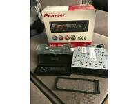 Pioneer car stereo and cd player