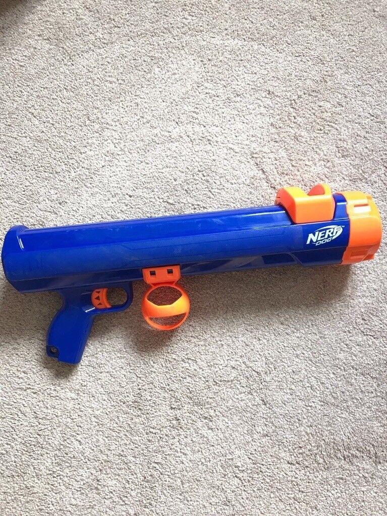 NERF dog gun