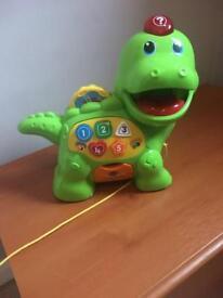 V tech feed me dinosaur