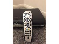 Sky+HD Box, remote & cable