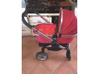 ICandy Peach, Carrycot/seat/liner/footmuff