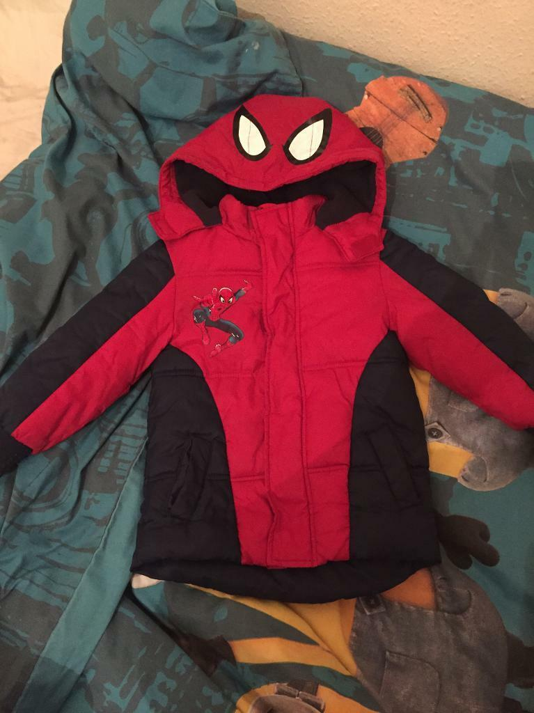 Spider Man winter jackets 2xin Wallsend, Tyne and WearGumtree - Spider man warm and waterproof jacket . Excellent condition. From pet and smoke free . Size 2 3 years and 4 5 years . I have 2 of these 5 each . Please see my other listings