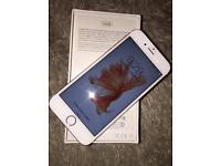 iPhone 6S [64GB] rose gold UNLOCKED with Warenty