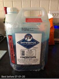 3.5liters SnowShock Ultimate Blue Raspberry Slush Syrup