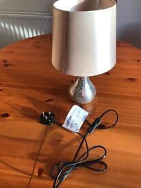 B&Q table lamp