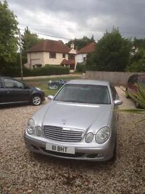 Mercedes e320 elegance automatic