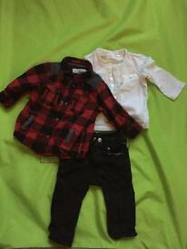 Baby outfit, 4-6 m